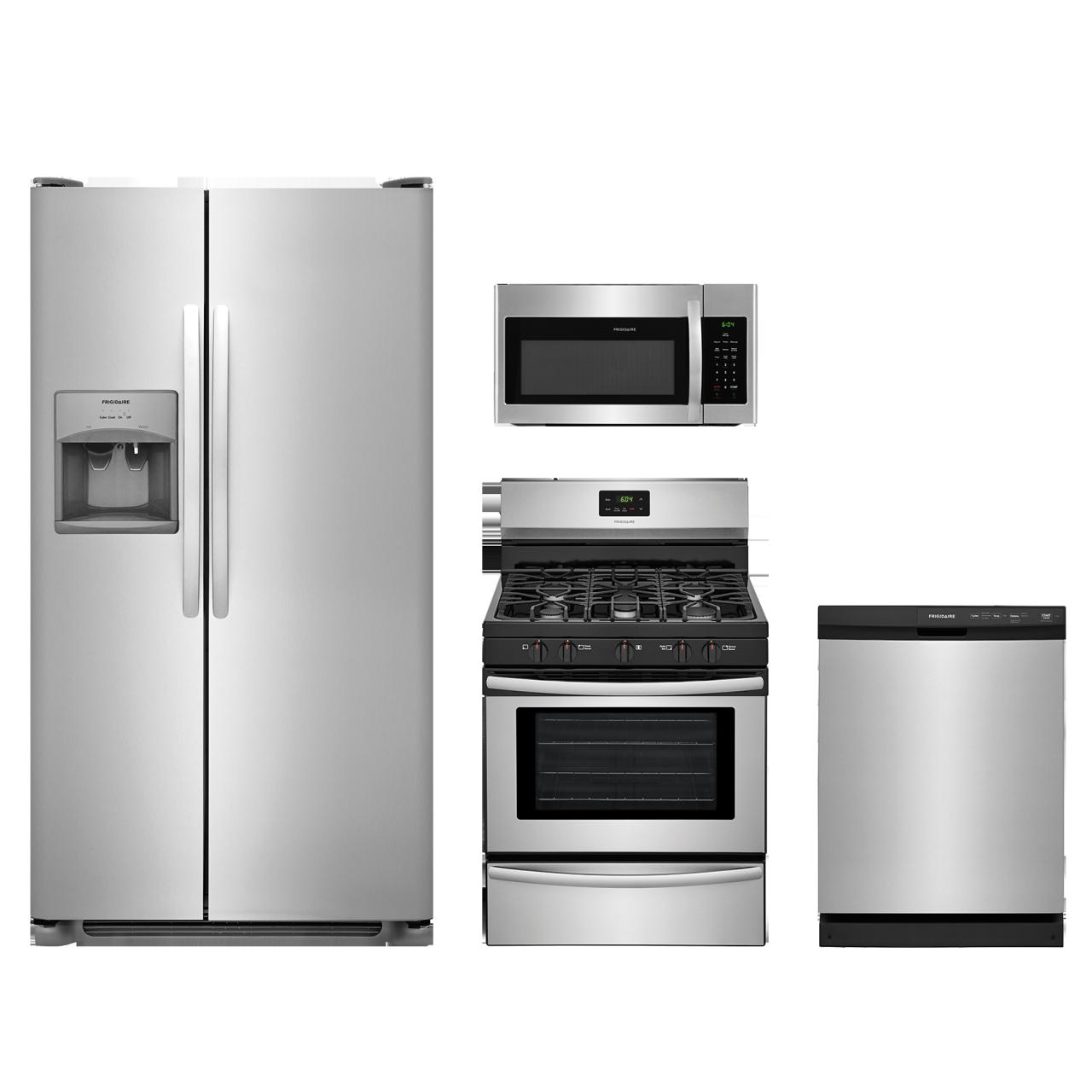 Frigidaire 174 4 Piece Kitchen Package Stainless Steel