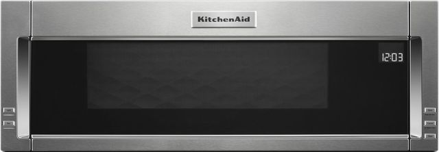 Kitchenaid 174 1 1 Cu Ft Stainless Steel Over The Range