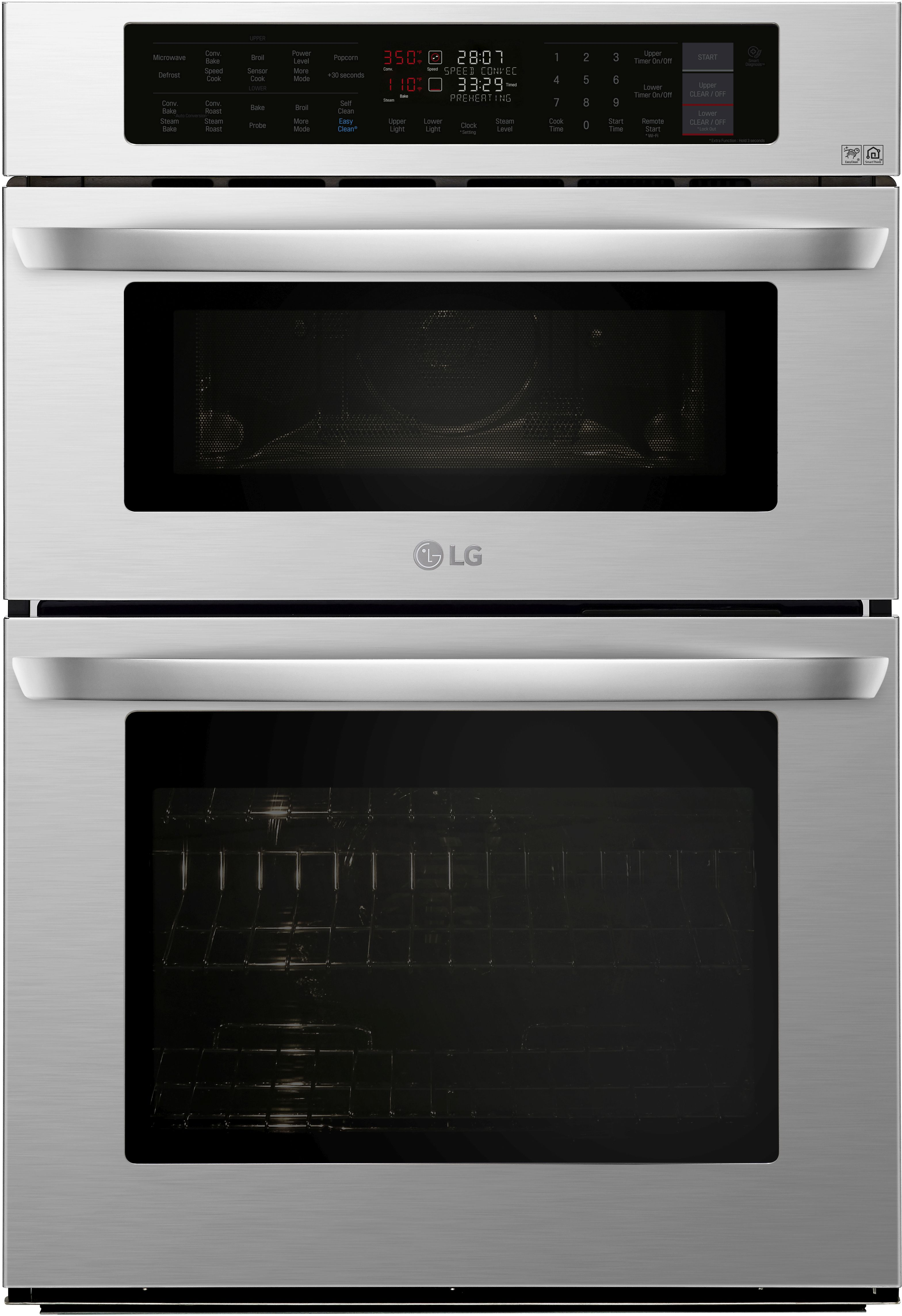 Reviews For Lg 30 Electric Oven Microwave Combo Built In