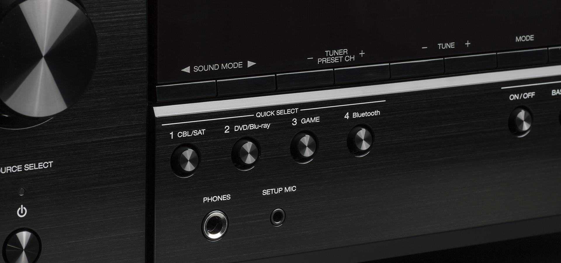 Denon® 5 2 Channel 4K Ultra HD AV Receiver-AVR-S540BT | Huppin's