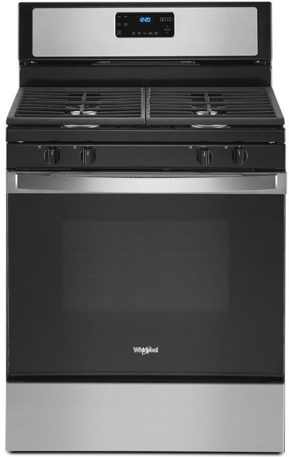 Whirlpool 174 29 88 Quot Stainless Steel Free Standing Gas Range