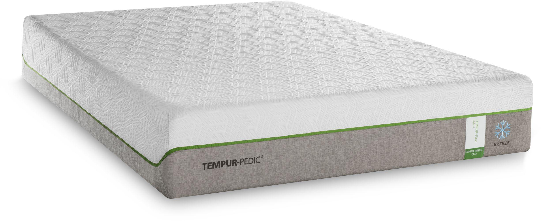 tempur pedic tempur flex supreme breeze mattress twin xl 10292220 matthews mattress. Black Bedroom Furniture Sets. Home Design Ideas