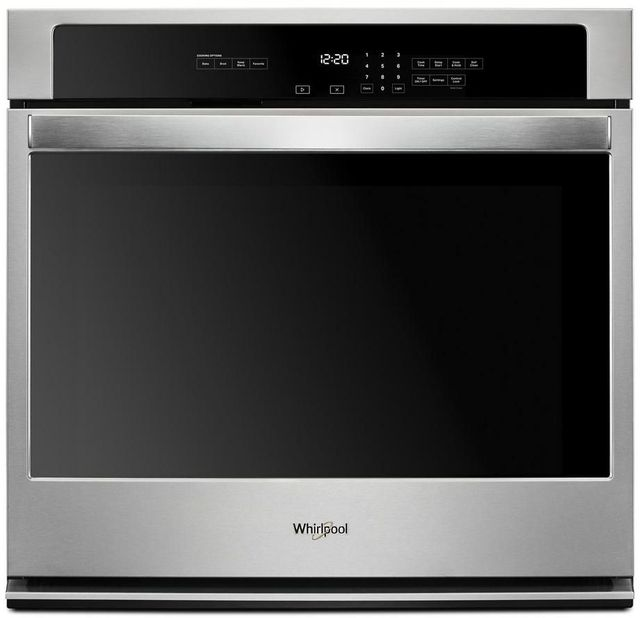 Whirlpool 174 27 Quot Stainless Steel Electric Built In Single