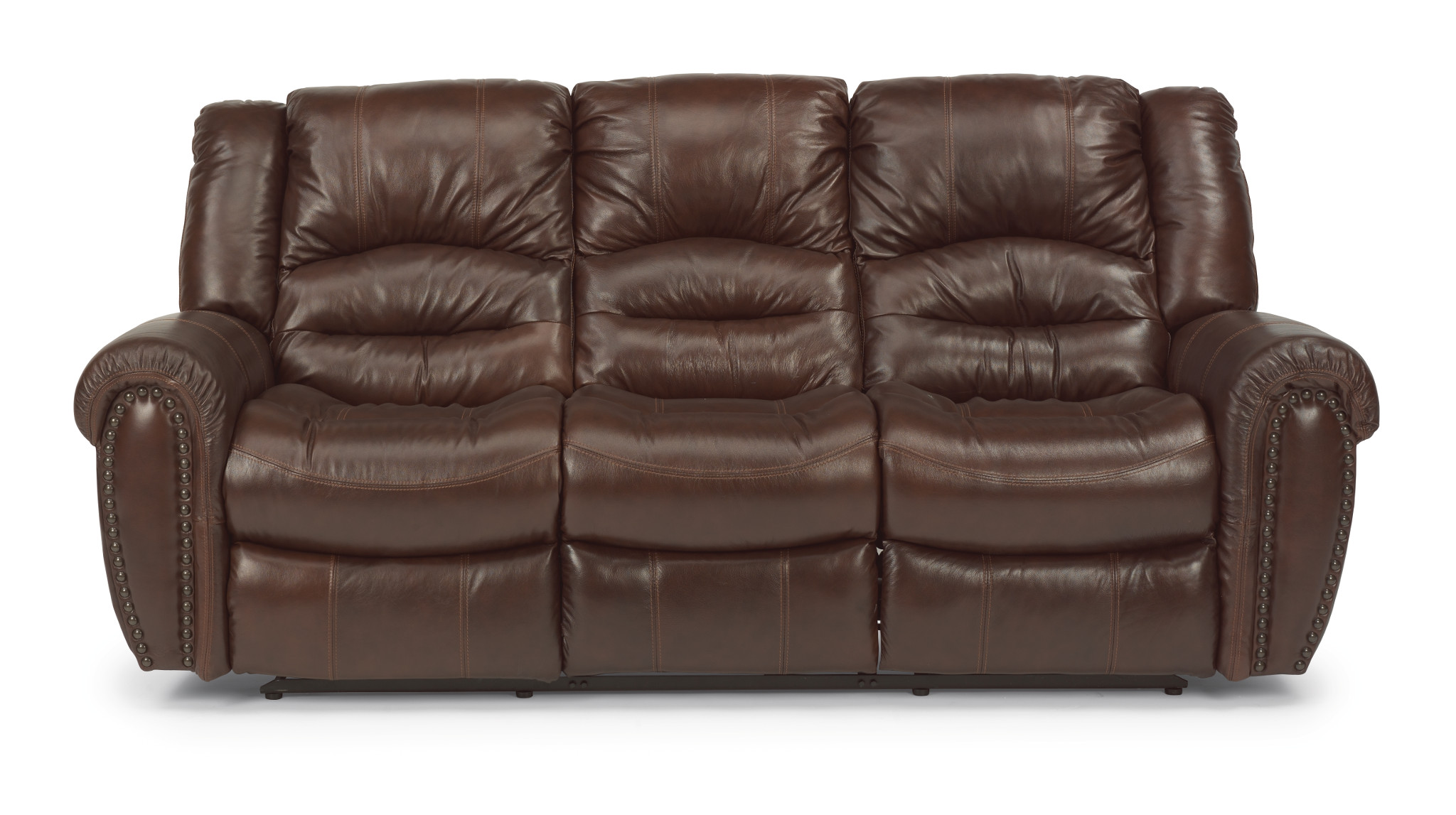 Flexsteel Crosstown Leather Reclining Sofa 1210 62