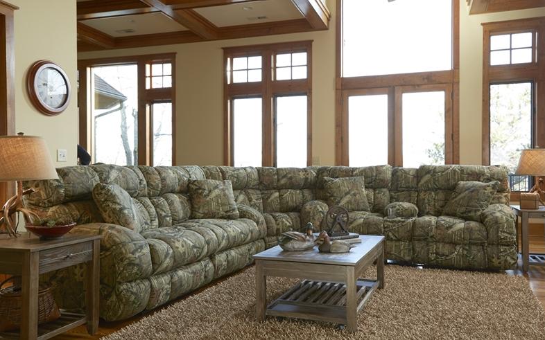 Catnapper Appalachian Lay Flat Reclining Sofa 1311