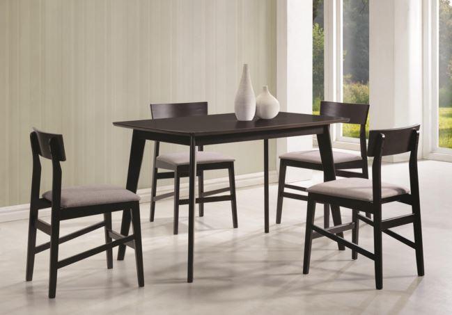 Coaster Dining Table 5 Piece Set 150347