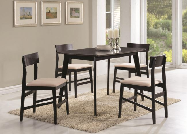 Coaster Dining Counter Height Table 5 Piece Set-150348 & Table and Chair Sets