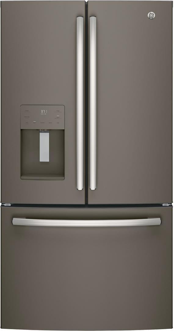 GE® 25 6 Cu  Ft  French Door Refrigerator-Slate-GFE26JMMES