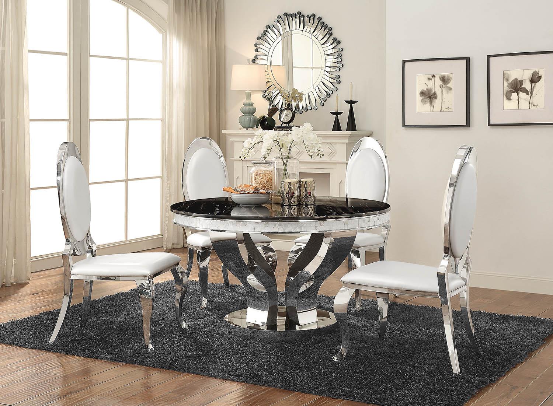 Coaster® Anchorage 5 Piece Dining Room Set 107872 S5