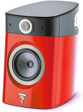 Focal® 2-Way High-End Bookshelf Loudspeaker-Imperial Red