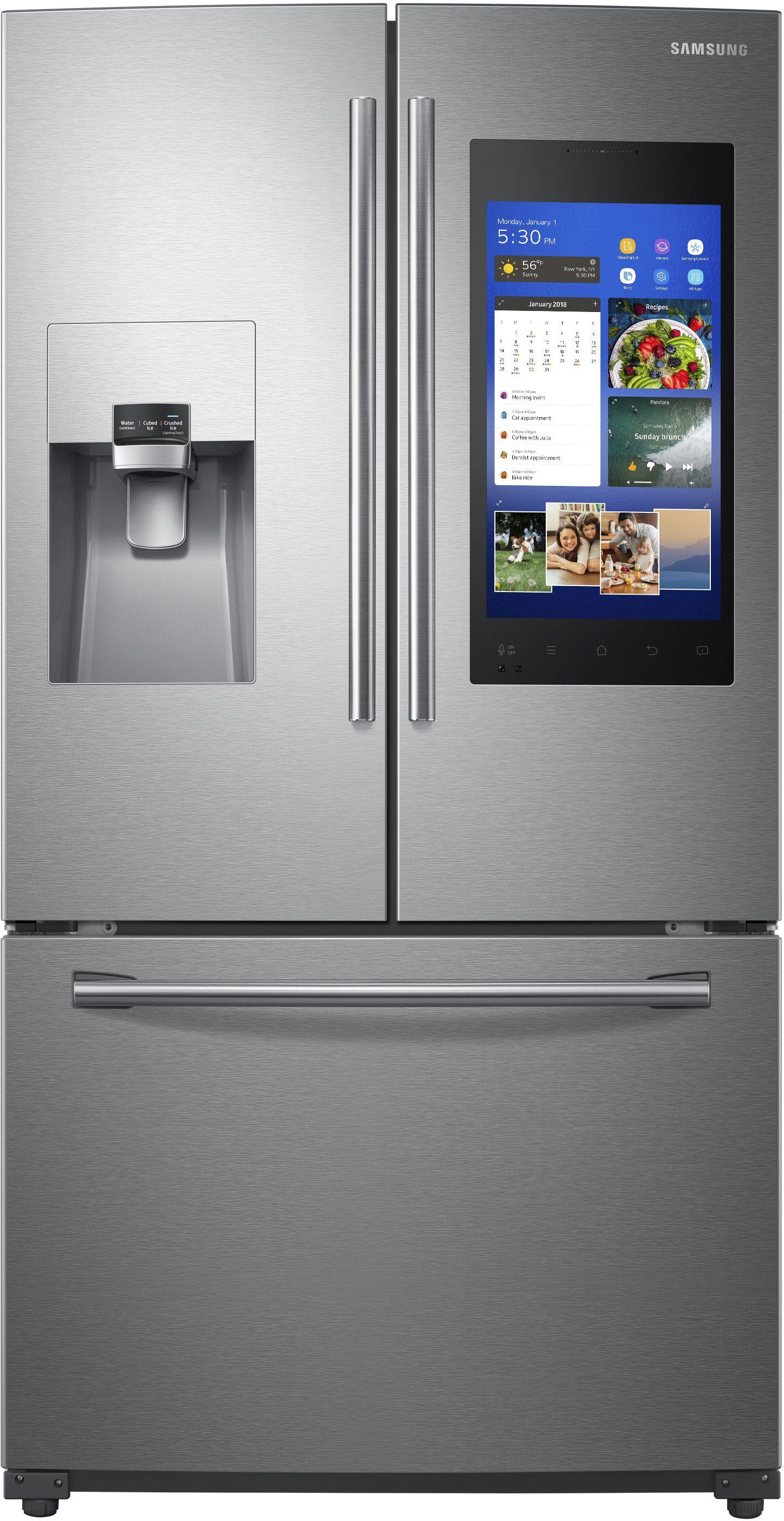 Samsung 26 Cu Ft 3 Door French Door Refrigerator Stainless Steel