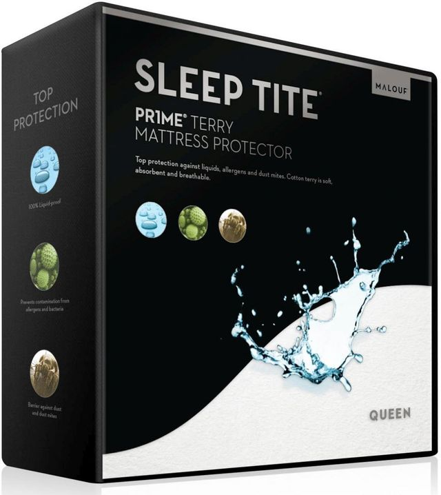 Malouf® Sleep Tite® Pr1me® Terry Rv Queen Mattress ...