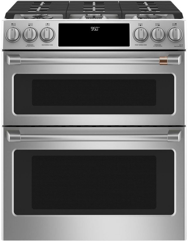 Cafe 30 Quot Stainless Steel Slide In Dual Fuel Range