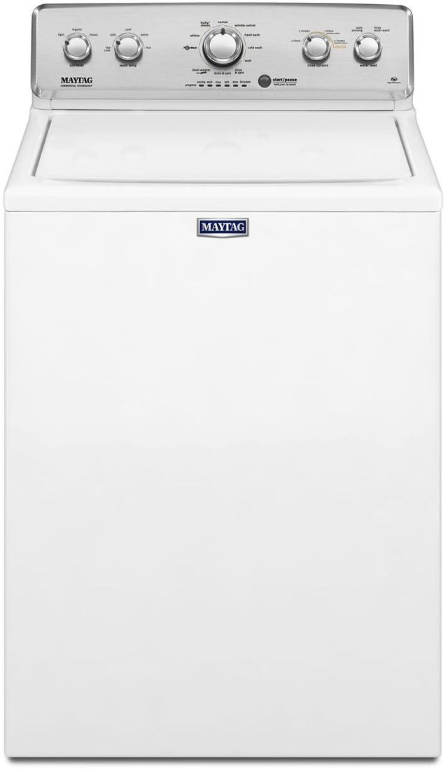 Maytag 174 4 2 Cu Ft White Top Load Washer Mvwc565fw