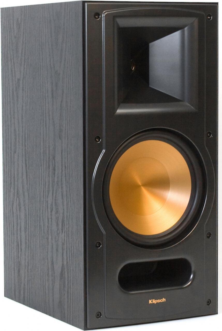 KlipschR RB 81 II Reference Bookshelf Speaker Black Ash 1011850