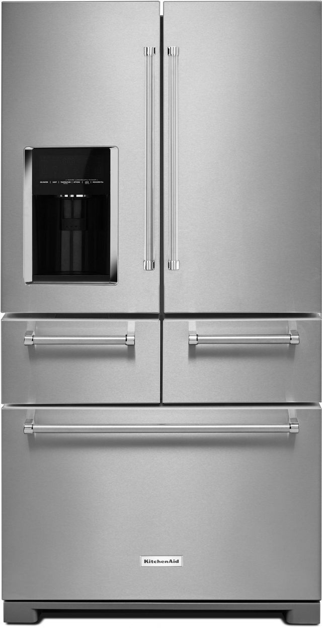 Kitchenaid 174 25 76 Cu Ft Stainless Steel French Door