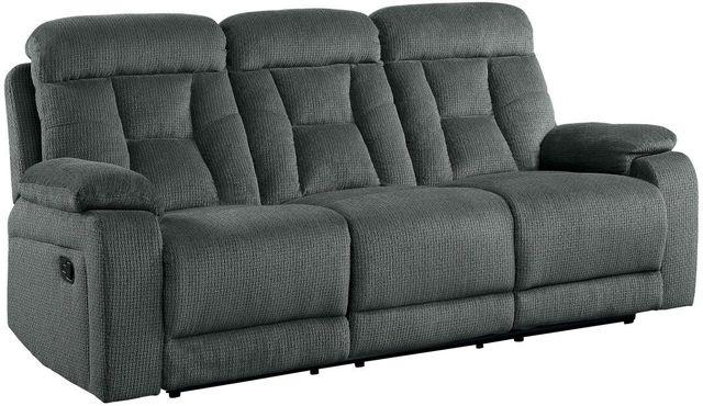 Fabulous Homelegance Rosnay Gray Double Reclining Sofa 9914 3 Creativecarmelina Interior Chair Design Creativecarmelinacom