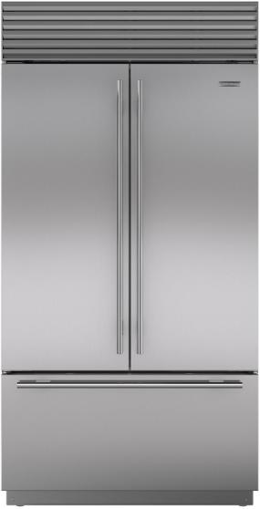 Sub Zero 174 24 7 Cu Ft Built In French Door Refrigerator