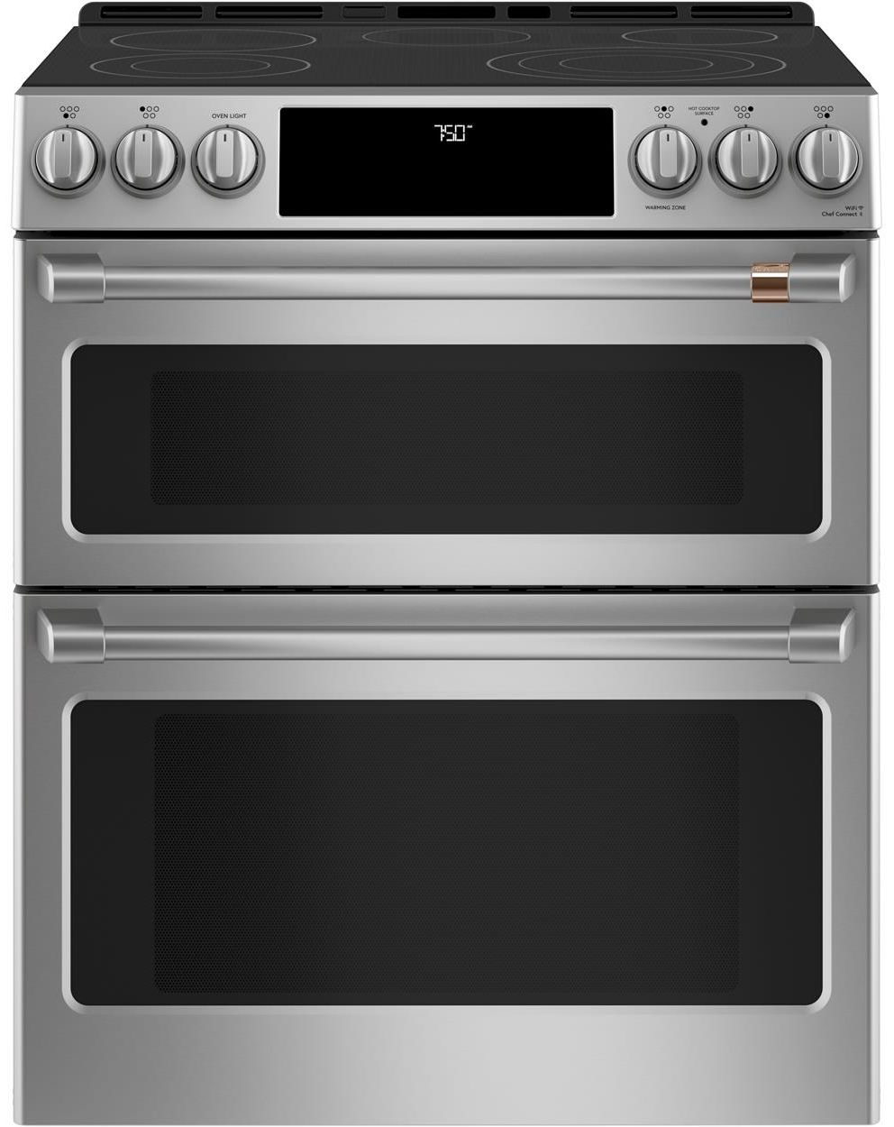Cafe 30 Quot Stainless Steel Slide In Electric Range