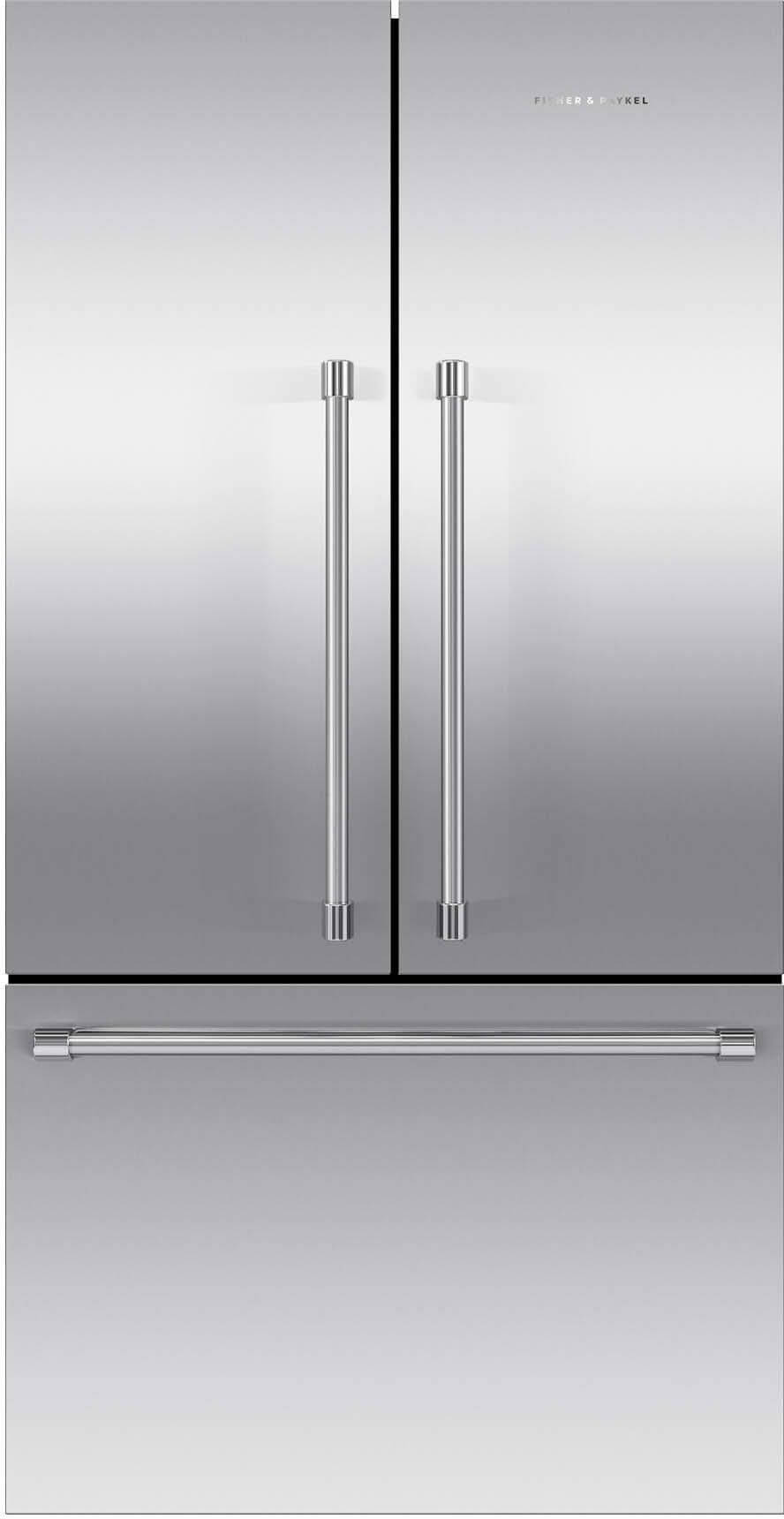 Fisher Paykel 201 Cu Ft French Door Refrigerator Stainless Steel