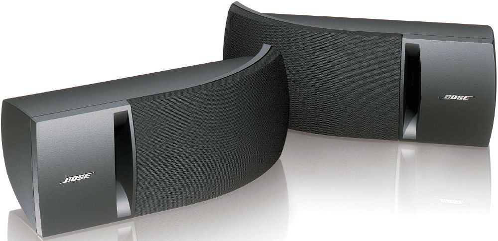 BoseR Black 161TM Bookshelf Speaker 27027