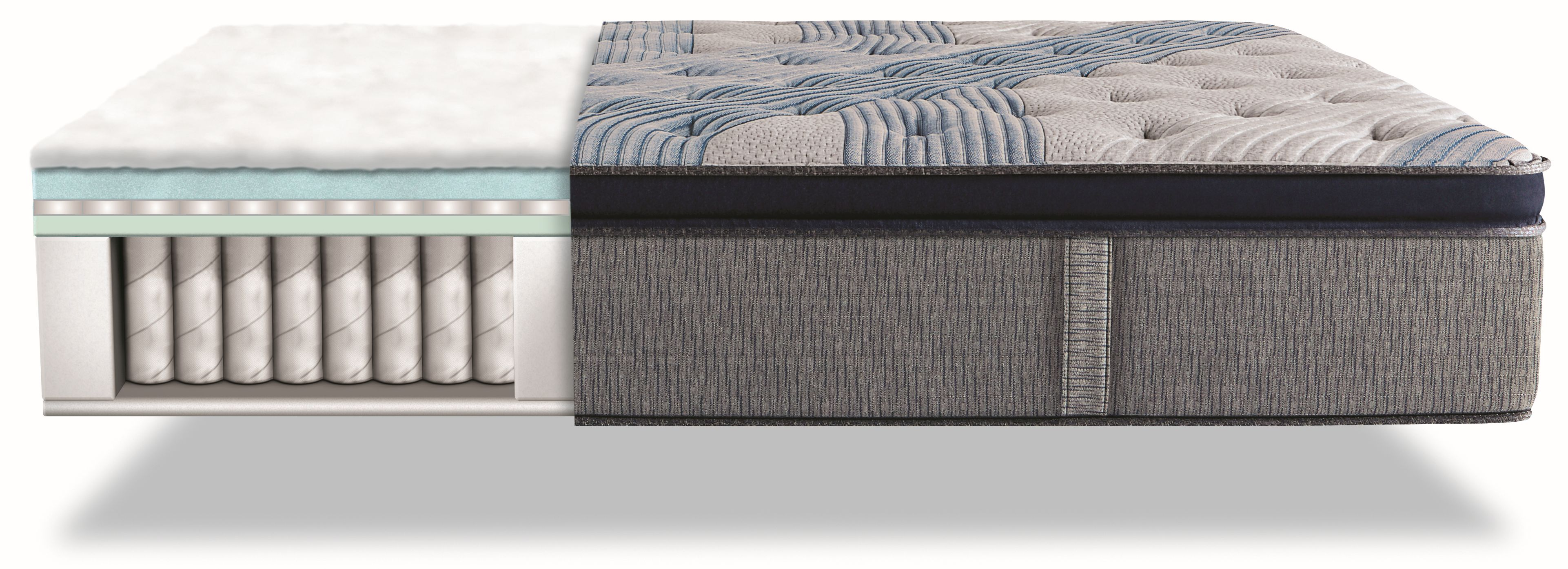 Serta 174 Icomfort 174 Hybrid Blue Fusion 4000 Plush Pillow Top