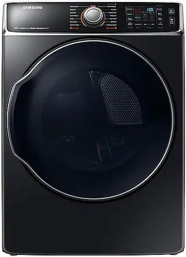 Samsung 9 5 Cu Ft Fingerprint Resistant Black Stainless