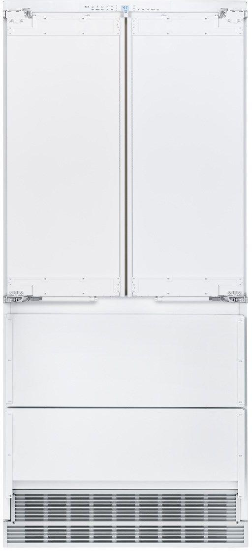 Liebherr 189 Cu Ft French Door Refrigerator Panel Ready Hcb 2082