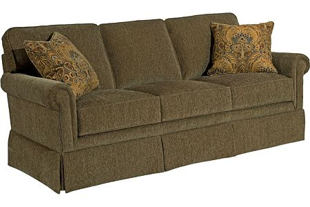 Bon Broyhill Audrey Sofa With Reversable Seat Cushions 3762 2