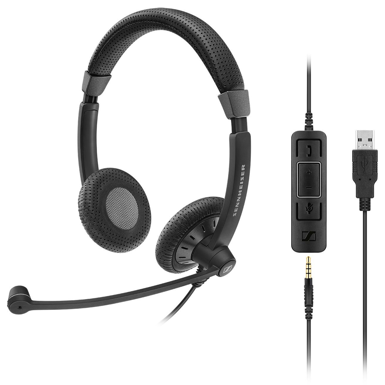 Sennheiser SC 75 USB MS Office U0026 Phone Headset SC 75 USB MS