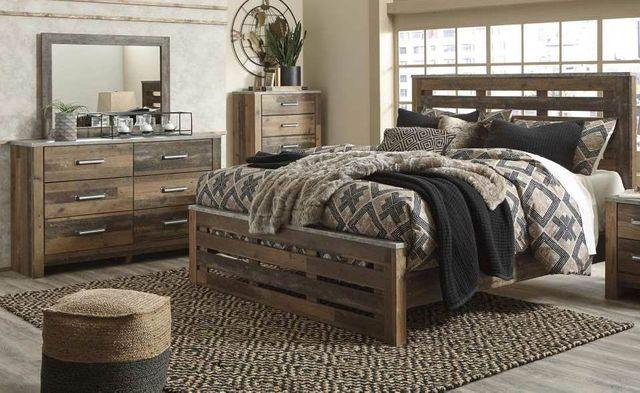 Benchcraft Chadbrook Brown 3 Piece Queen Bedroom Set B337 57 54
