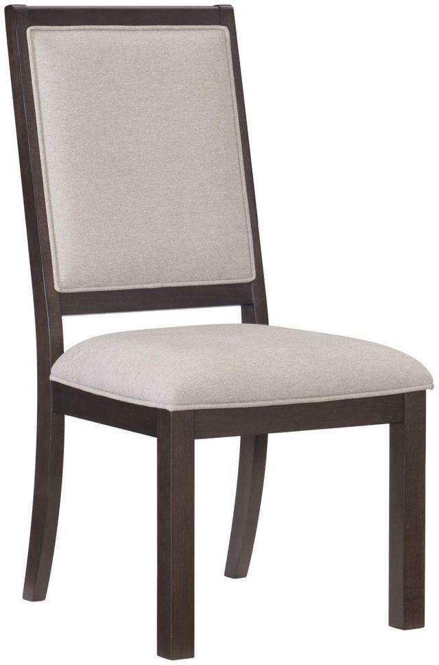 Homelegance 174 Josie Espresso Side Chair 5718s American