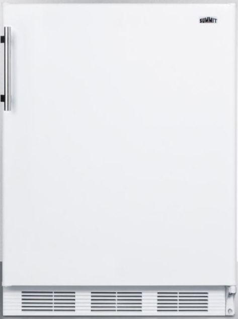 Summit® 5.1 Cu. Ft. Counter Height Refrigerator-White