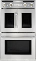 American Range Legacy 30 Stainless Steel Built In Gas Double Wall Oven Arofsg230lral