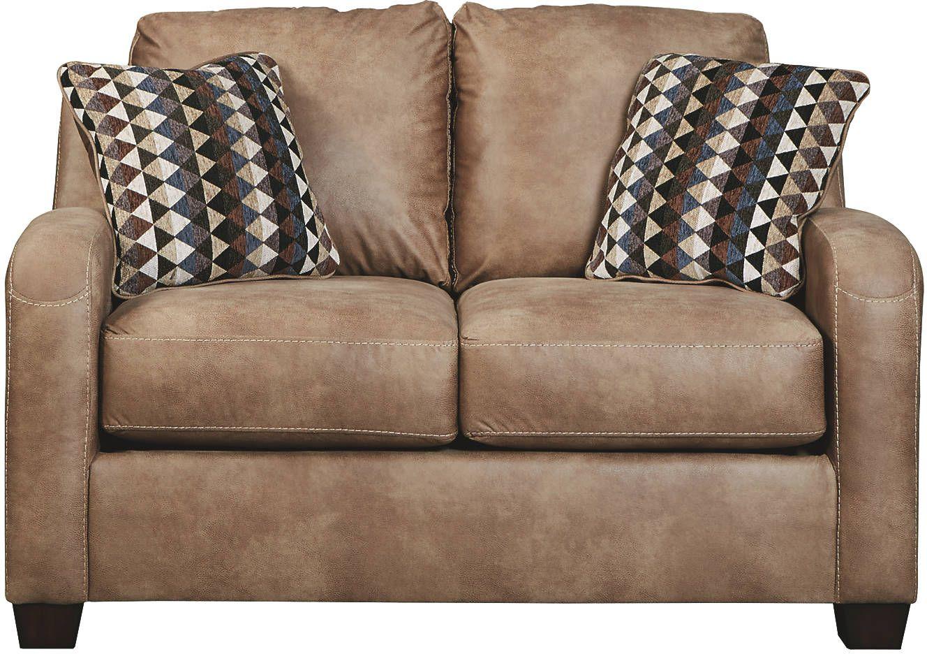 Cool Benchcraft Alturo Dune Loveseat 6000335 Peoples Furniture Beatyapartments Chair Design Images Beatyapartmentscom