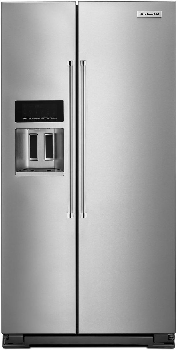 Kitchenaid 174 22 65 Cu Ft Monochromatic Stainless Steel