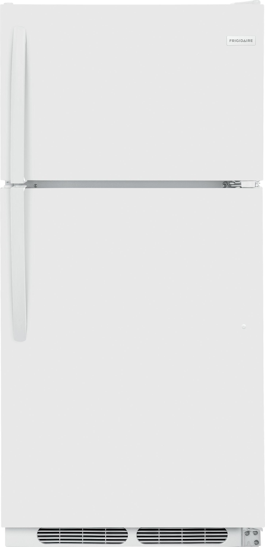 Frigidaire 174 14 5 Cu Ft White Top Freezer Refrigerator