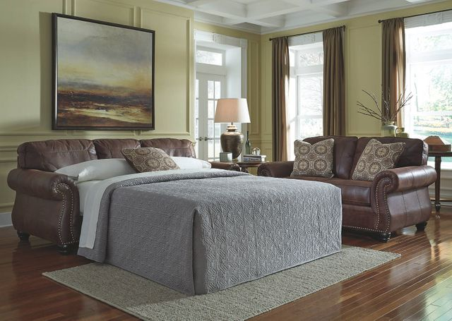 Cool Benchcraft Breville Espresso Queen Sofa Sleeper 8000339 Cjindustries Chair Design For Home Cjindustriesco