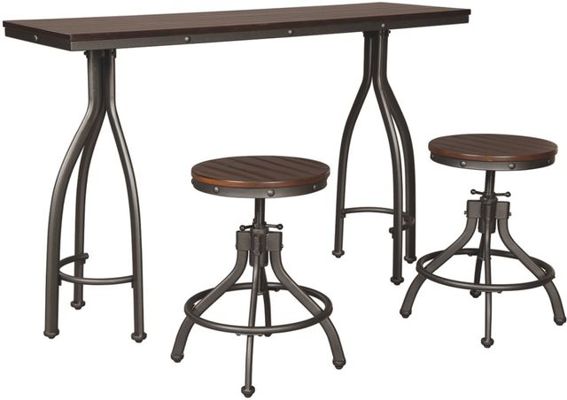 Signature Design By Ashley 174 Odium 3 Piece Counter Height