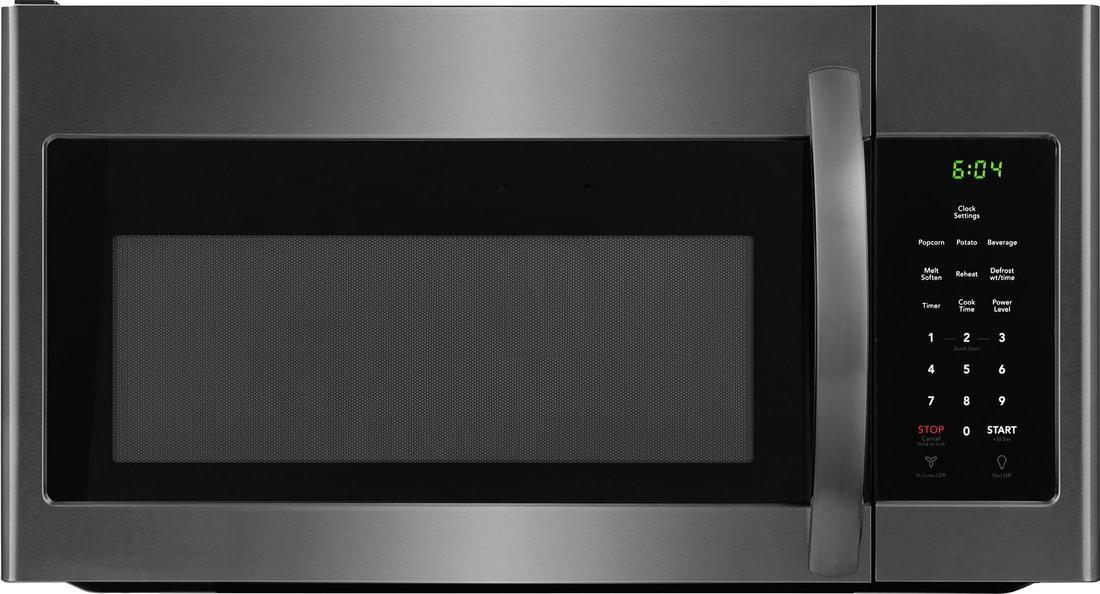 Crosley 174 Over The Range Microwave Black Stainless Steel