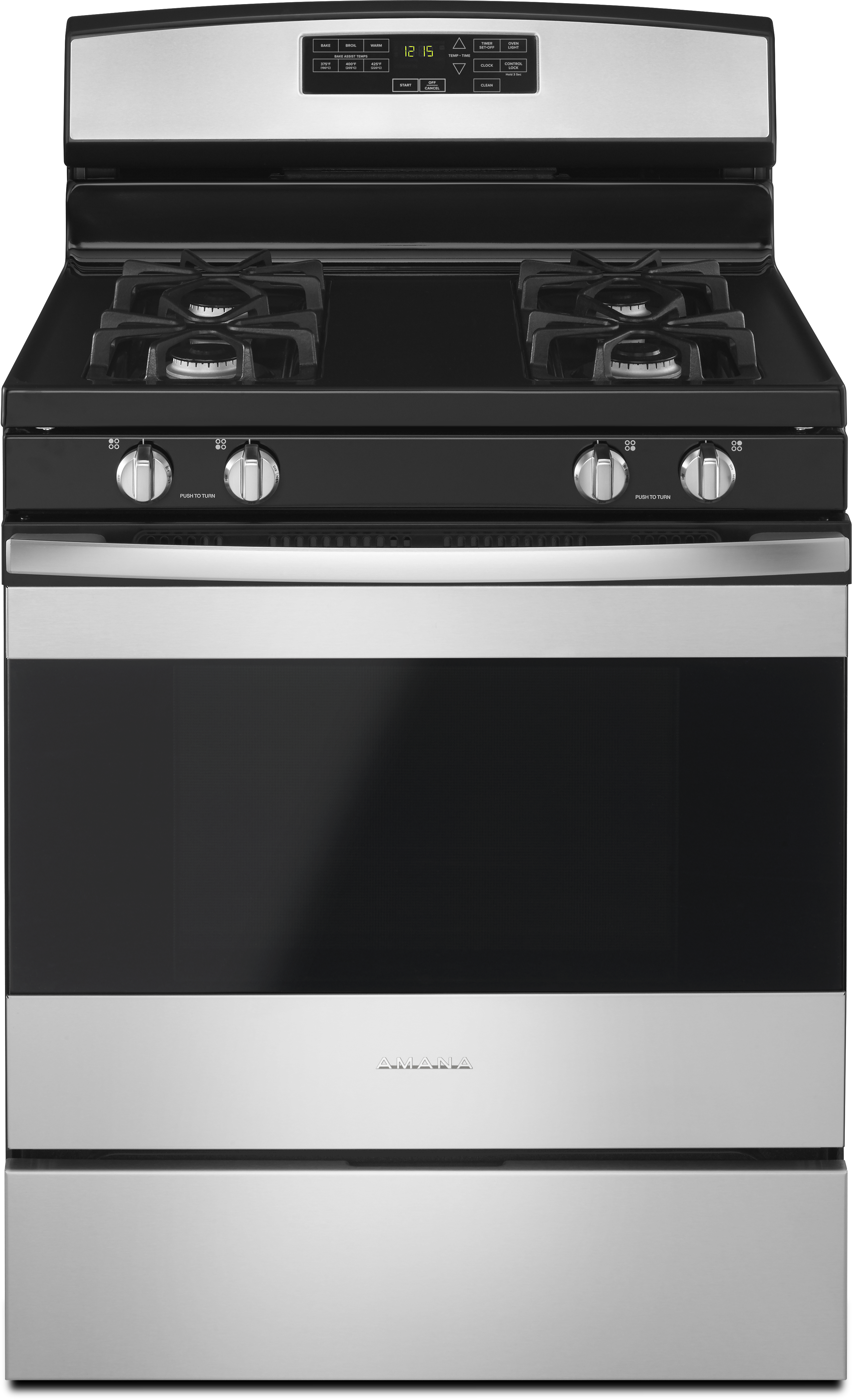 Amana 174 30 Quot Free Standing Gas Range Bank On Stainless