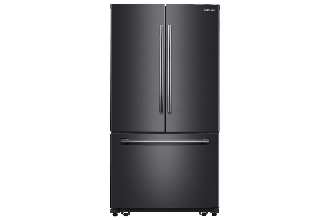 Samsung 26 Cu Ft French Door Refrigerator Black Stainless Steel