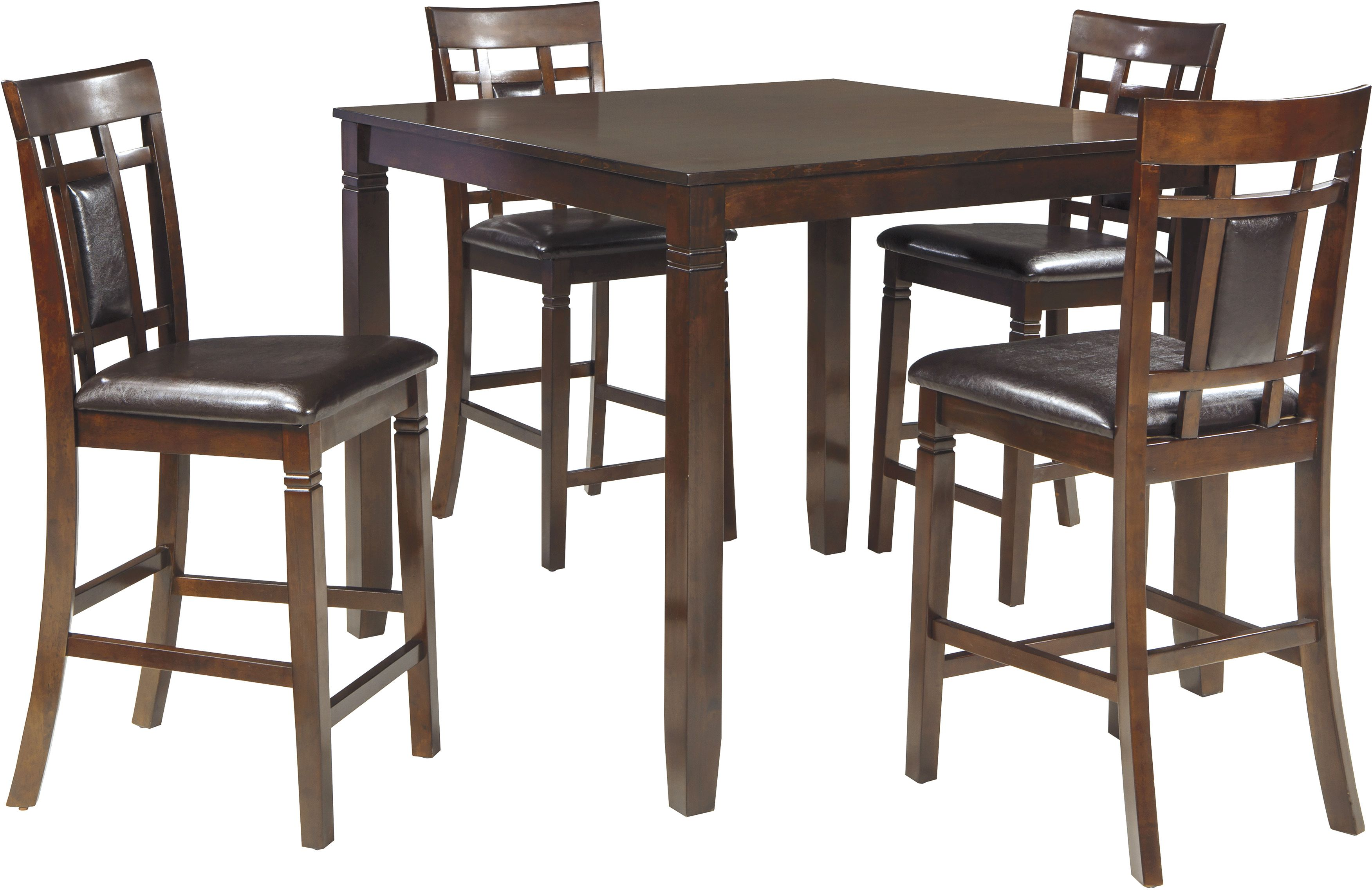 Signature Design By Ashley® Bennox 5 Piece Counter Height Dining Set D384