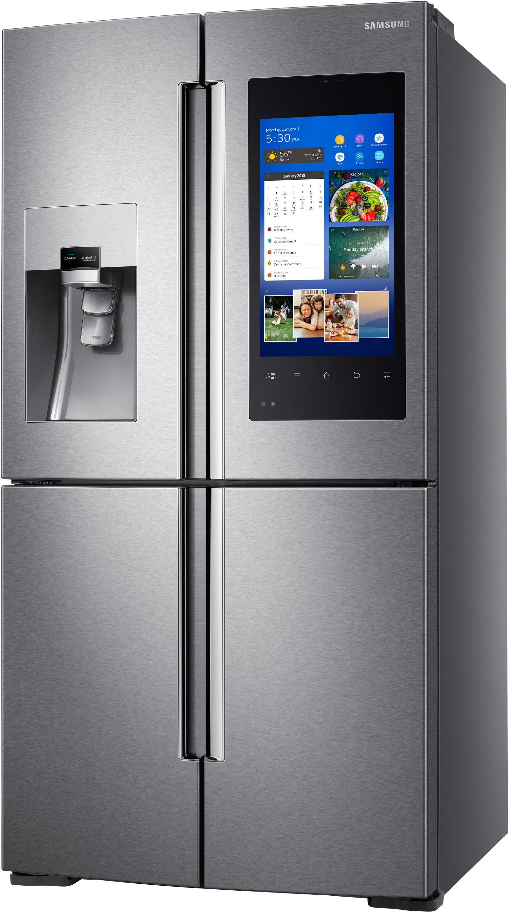 Delicieux Ft. 4 Door Flex™ Refrigerator Fingerprint Resistant Stainless ...