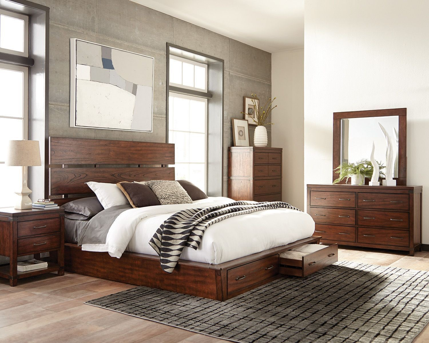 Superieur Coaster® Artesia By Scott Living™ 4 Piece California King Bedroom  Collection 204470KW