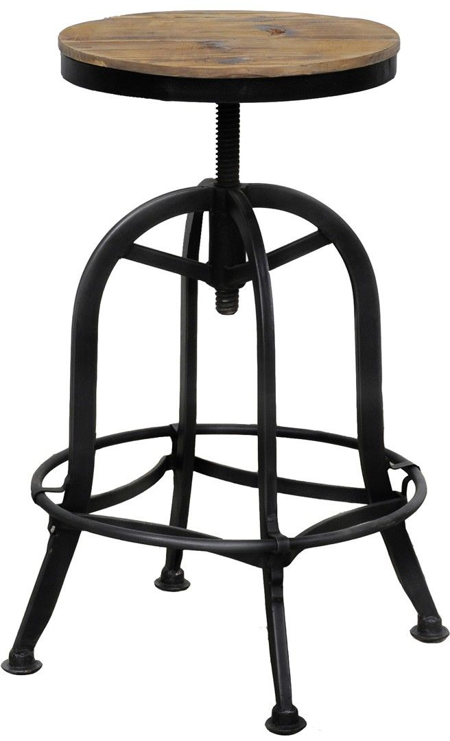 Classic Home Akron Round Bar Stool 53003502ELP