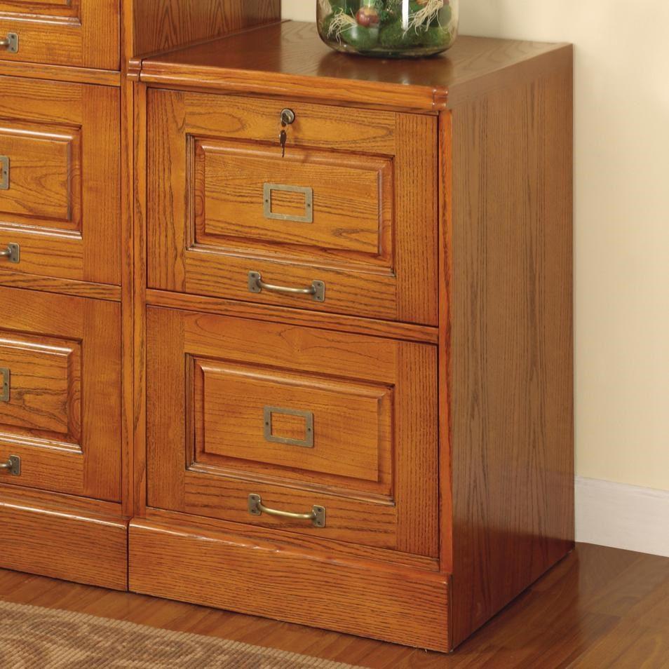 Coaster Palmetto Oak File Cabinet 5317n