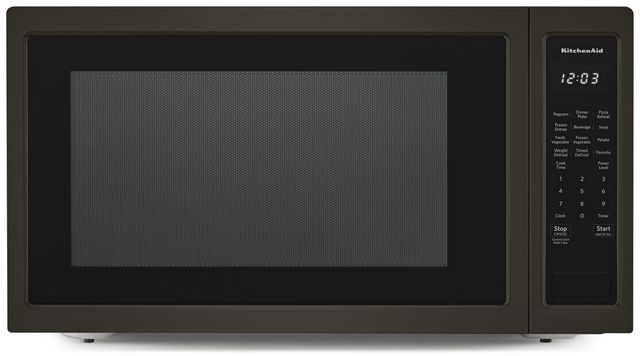 2 Cu Ft Black Stainless Steel