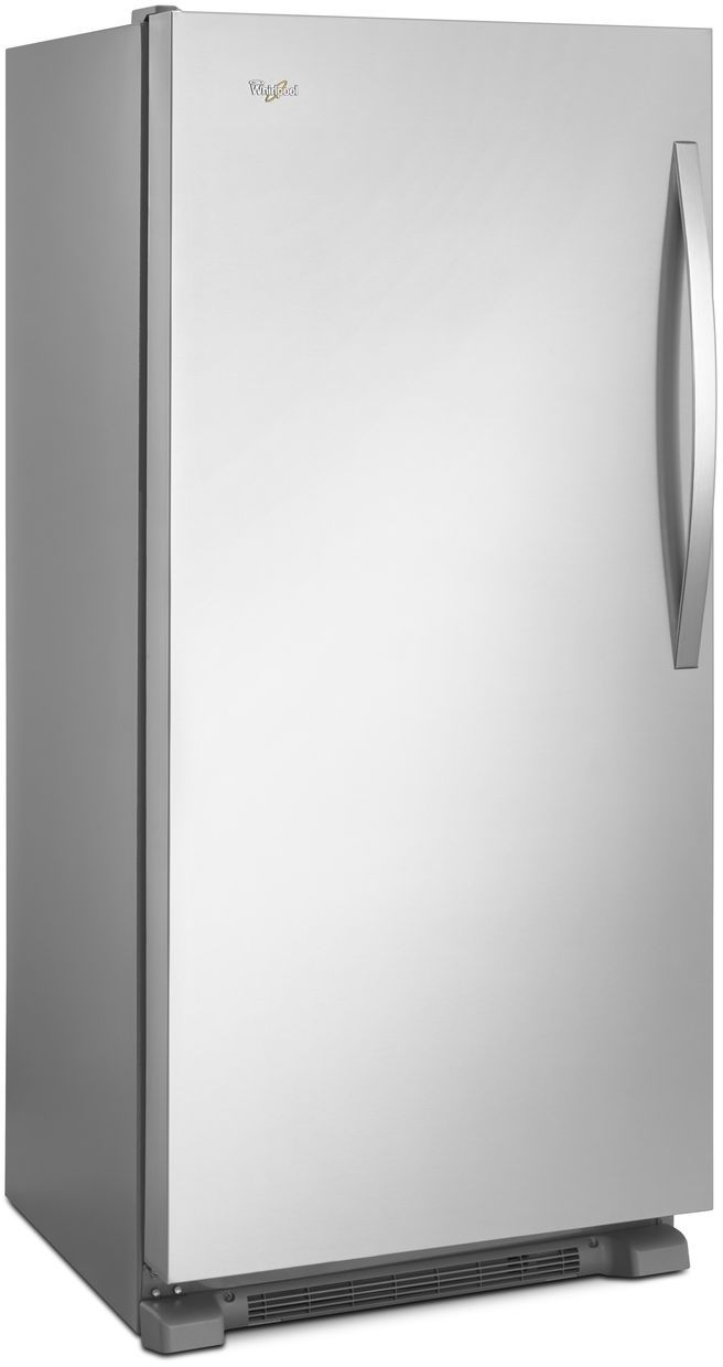 Ft all freezer monochromatic stainless steel
