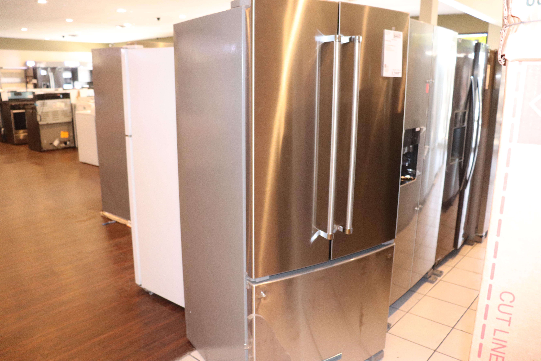 New Open Box KitchenAid® 22 Cu. Ft. Stainless Steel French Door Bottom  Freezer Refrigerator-KRFF302ESSSD-KRFF302ESSSD